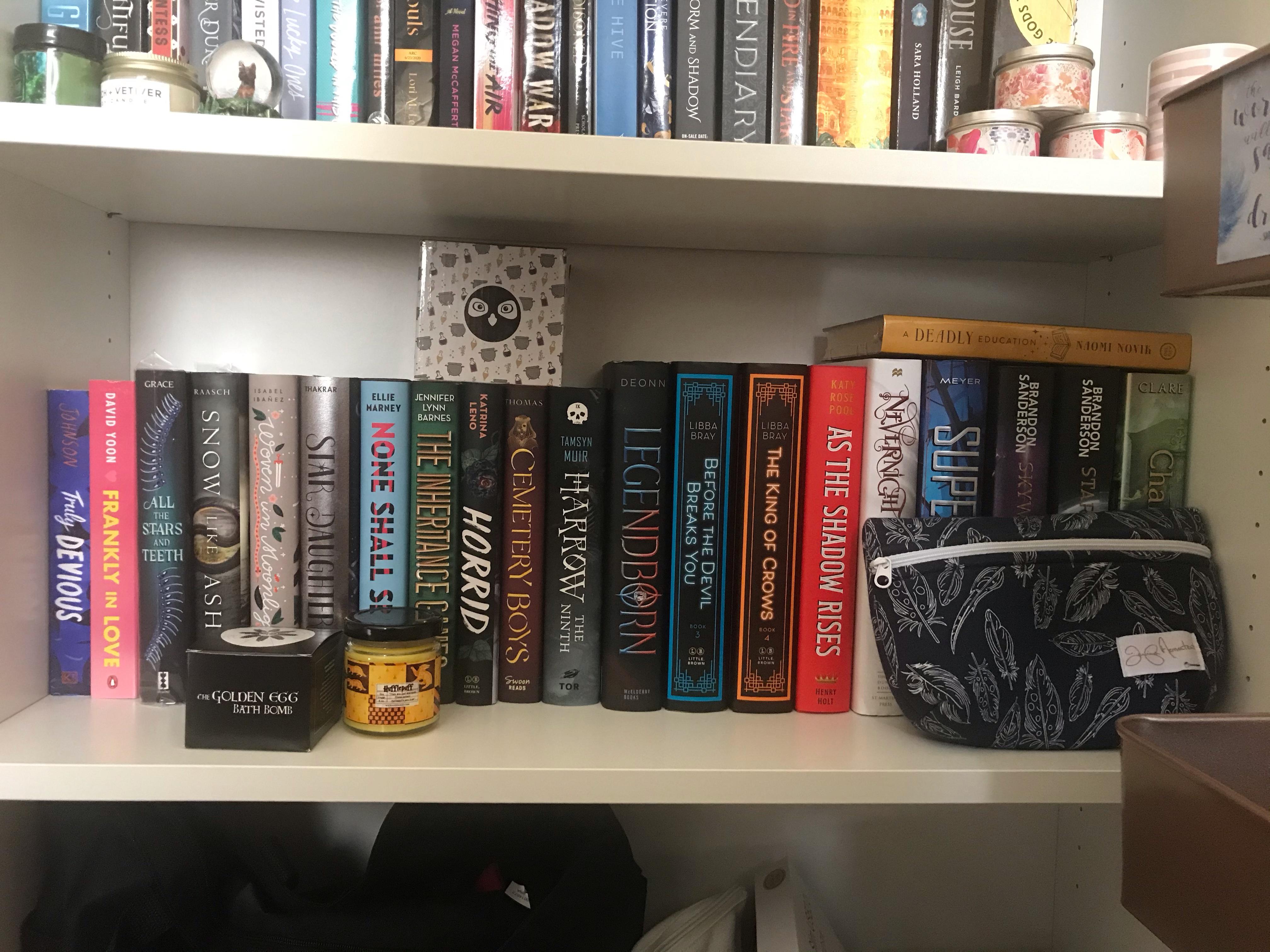 second shelf