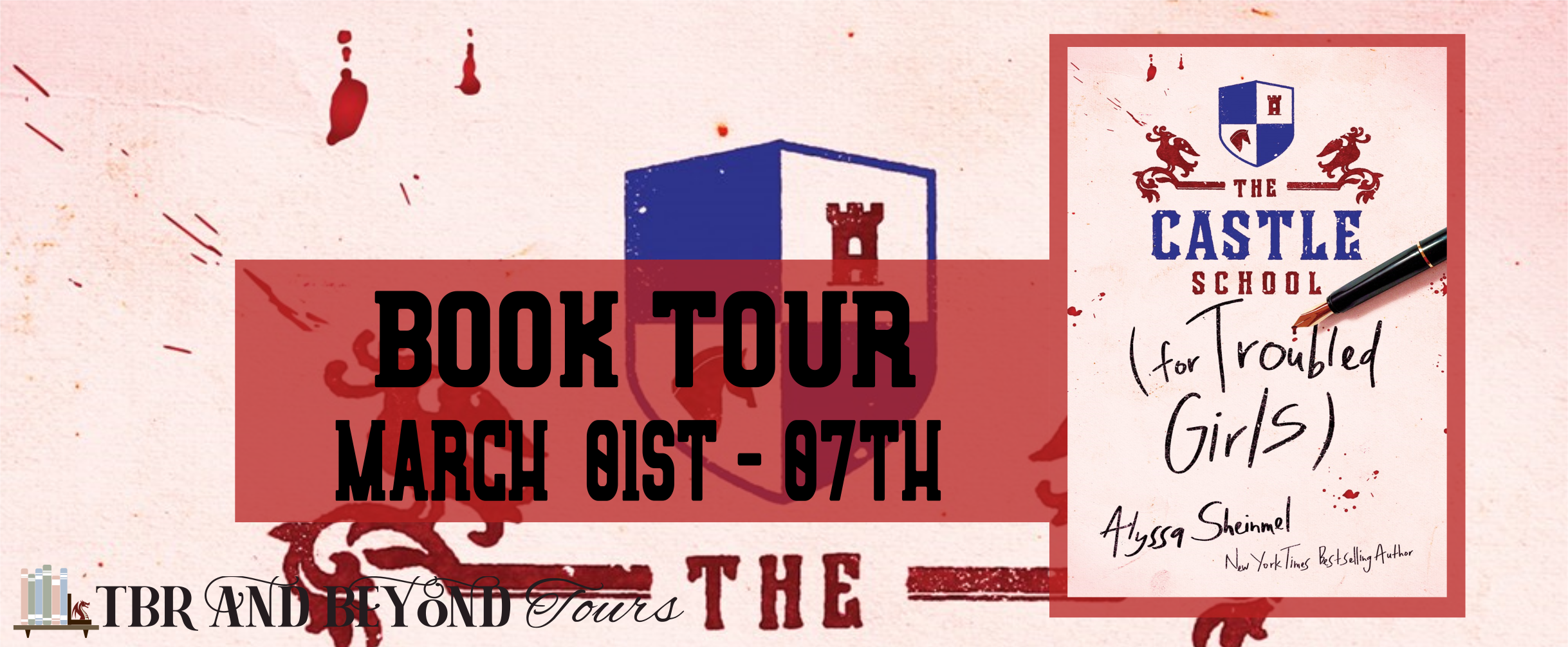 The Castle School (for Troubled Girls) tour banner