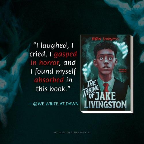 The Taking of Jake Livingston Instagram Post